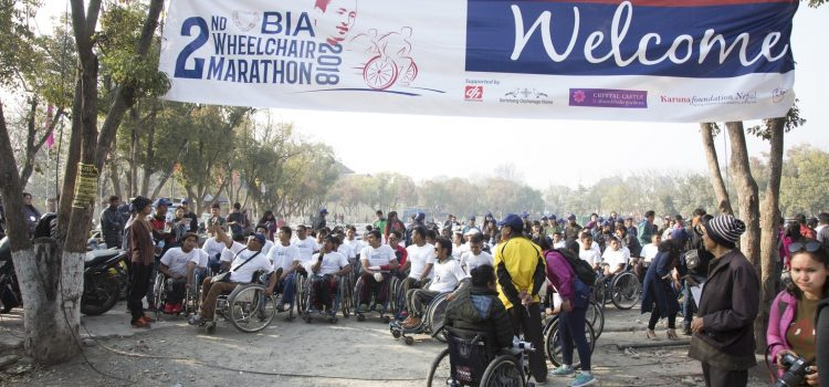 BIA Second Wheelchair Marathon 2018
