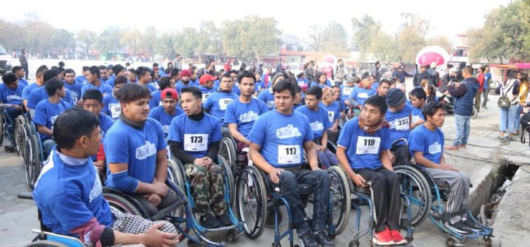 3rd BIA Wheelchair Marathon and Blood Donation Program