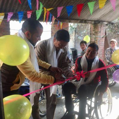 Wheelchair Repair and Maintenance workshop Inauguration